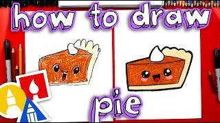 How To Draw A Funny Pumpkin Pie + Featured Artists & SYA!