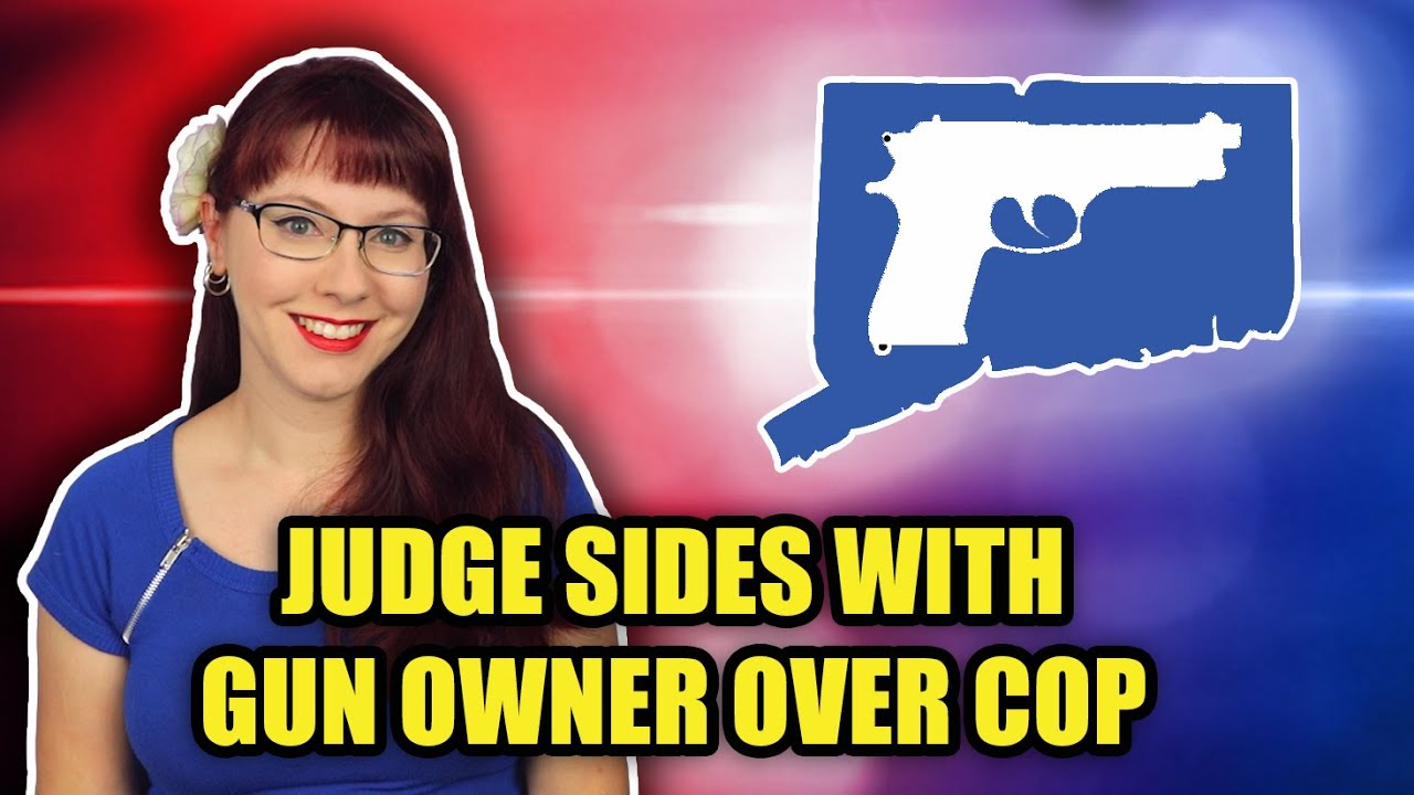 Judge Sides With Gun Owner Over Cop