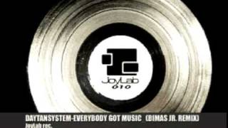 Daytansystem-Everybody Got Music feat. Axer (Bimas jr_remix)