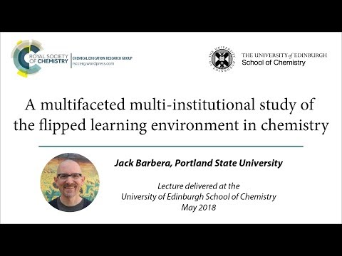 The flipped learning environment in chemistry