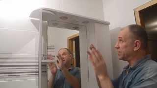 Смотреть видео Как правильно выбрать и повесить зеркало в ванною