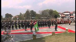 Nepal Army Guard of Honor Ceremony