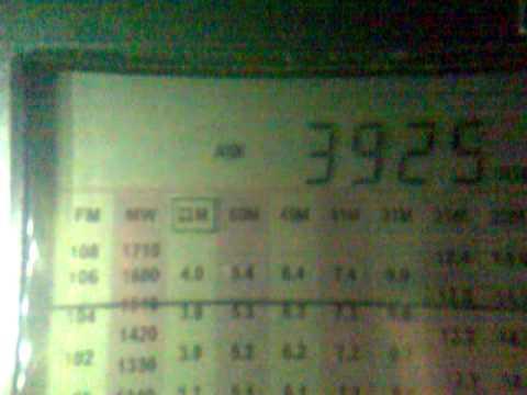3925 KHz RADIO NIKKEI 1 50 KW from Chiba Nagara 2012 12 27