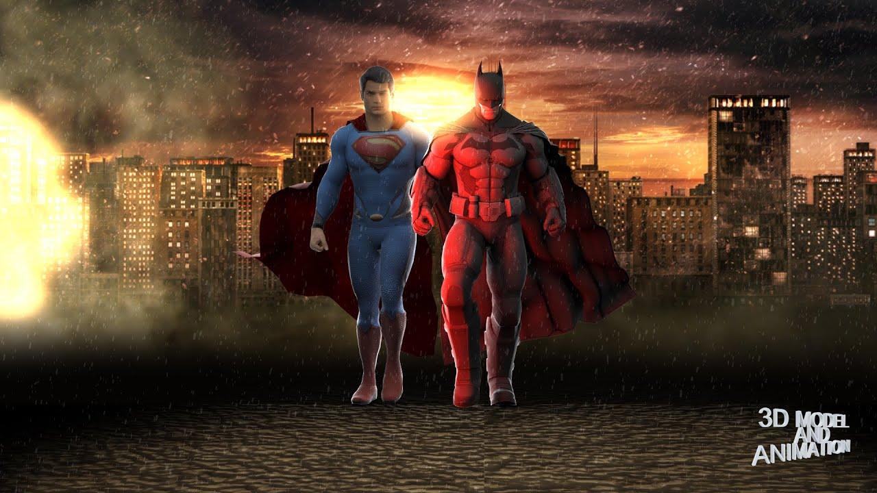 Justice League Hd Wallpaper Cgi Amp Vfx Breakdowns Quot Batman V Superman 3d Animation