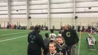 Land Of Opportunity Sports 10u Winter Indoor Flag Football Week 3 11/29/15
