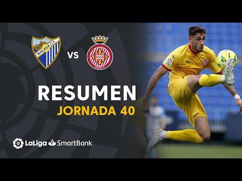 Malaga Girona Goals And Highlights