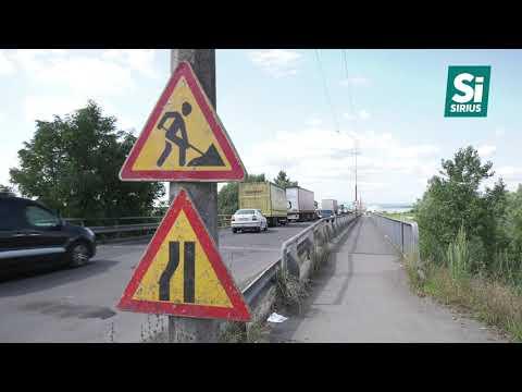 Ускладнення руху на виїзді з Мукачева через ремонтні роботи