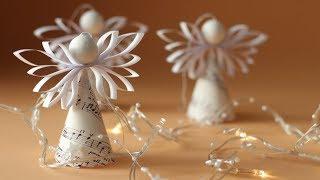 Andílek z papíru | Christmas Paper Angel