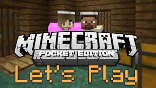 Let's Play Minecraft PE! [1] [Multiplayer]