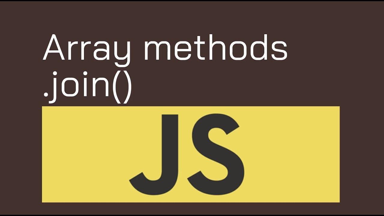 join Method In JavaScript