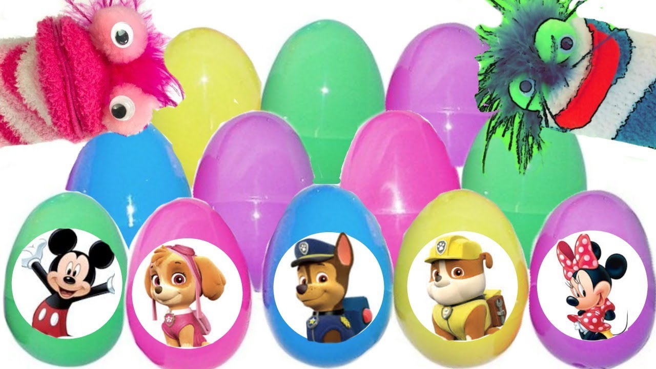 Fizzy Fun Toys: Fizzy Teaches Phoebe With Colorful Paw Patrol Eggs