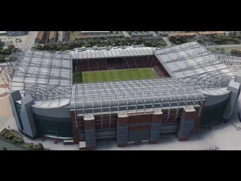 FIFA 16 Vs PES 16 Stadiums: Old Trafford (Manchester United)