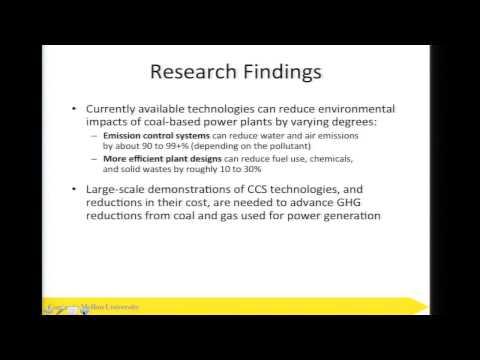 CMU Energy Presentation: Clean Coal