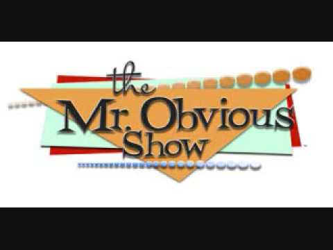 The Mr. Obvious Show - Beer Pitcher