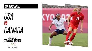 USA vs CANADA | Women's Football - Semi-Final - Highlights