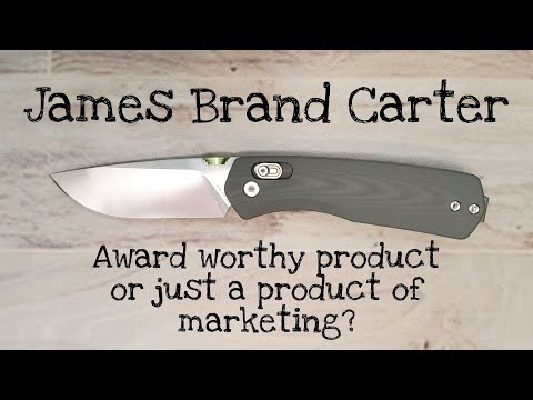 The James Brand Carter Pocketknife: A Classic Mild Mannered Review (and a few extra throughts)