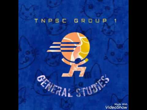 IMPORTANT TOPICS FOR TNPSC GROUP 1 GENERAL STUDIES OVERVIEW