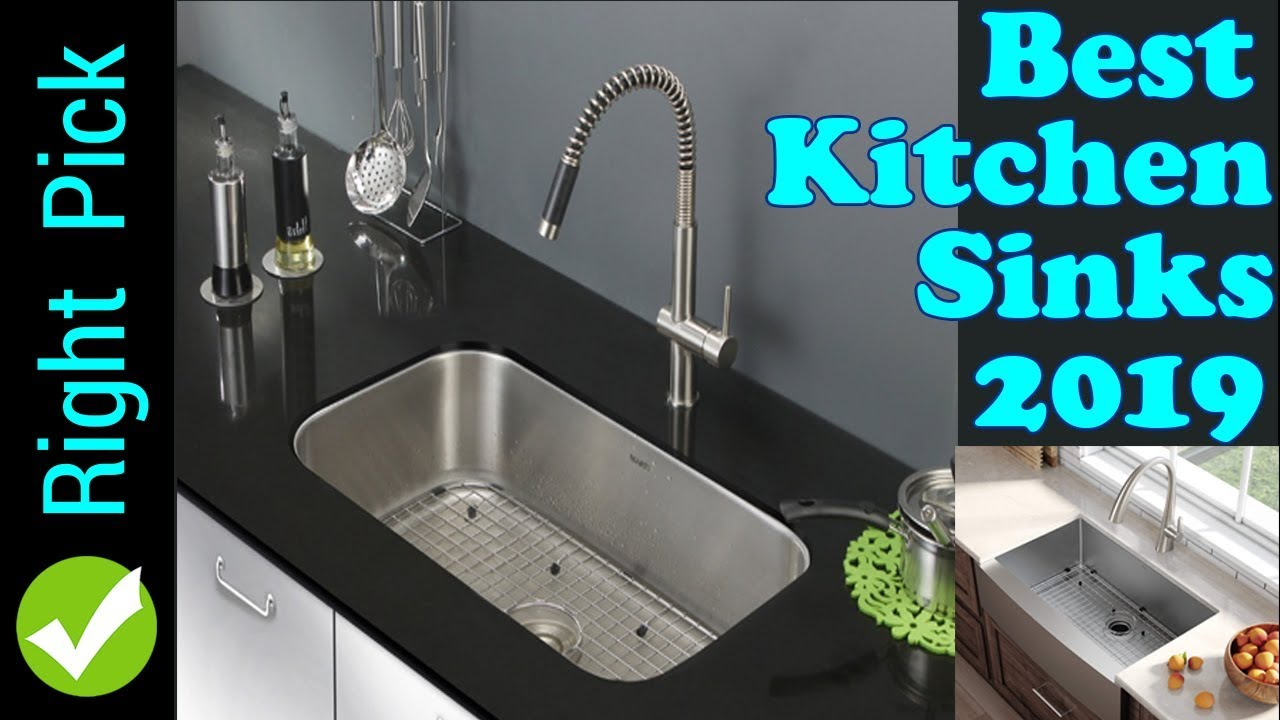 KITCHEN SINK : Best Kitchen Sinks 2019 | Best Stainless Steel Kitchen Sink