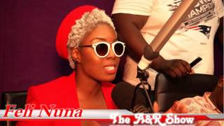 THE A&R SHOW   wt SAMMY FLEXX   [ THE FELI NUNA INTERVIEW]]