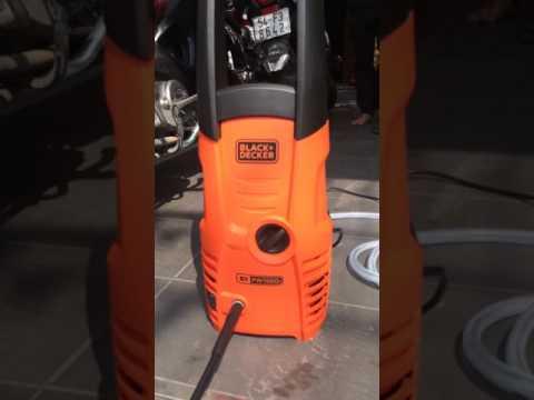 Máy Phun Cao áp Black+Decker PW1500S