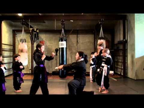 Kids Kung Fu Martial Arts Training in Los Angeles near Santa Monica and Westwood