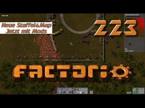 Factorio #223 Ein cooles neues Nest Mods Dytech Treefarm Industrie und Fabrik Simulator deutsch HD