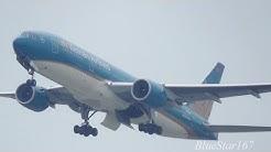 [New livery] Vietnam Airlines Boeing 777-200ER (VN-A146) takeoff from KIX/RJBB (Osaka - Kansai) 06R