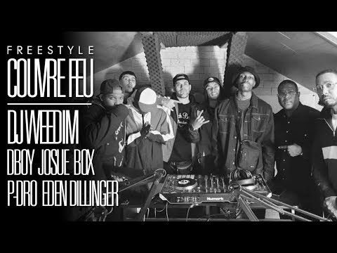 Youtube: DJ WEEDIM x DBOY x JOSUÉ x BOX x P-DRO x EDEN DILLINGER – Freestyle COUVRE FEU sur OKLM Radio