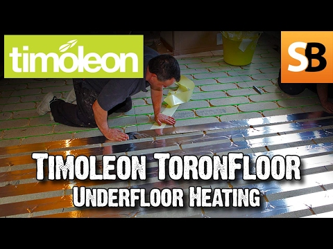 Installing  Omnie Zero  Build Up Underfloor Heating
