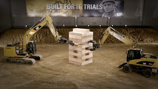Built For It Trials - Stack: Largest JENGA® Game Played with Cat® Excavators