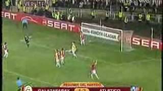 Galatasaray-Atletico (1-2) EUFA Europa League 25/02/2010