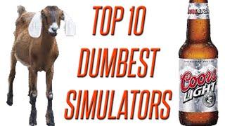 Top 10 Dumbest Simulation Games - GFM