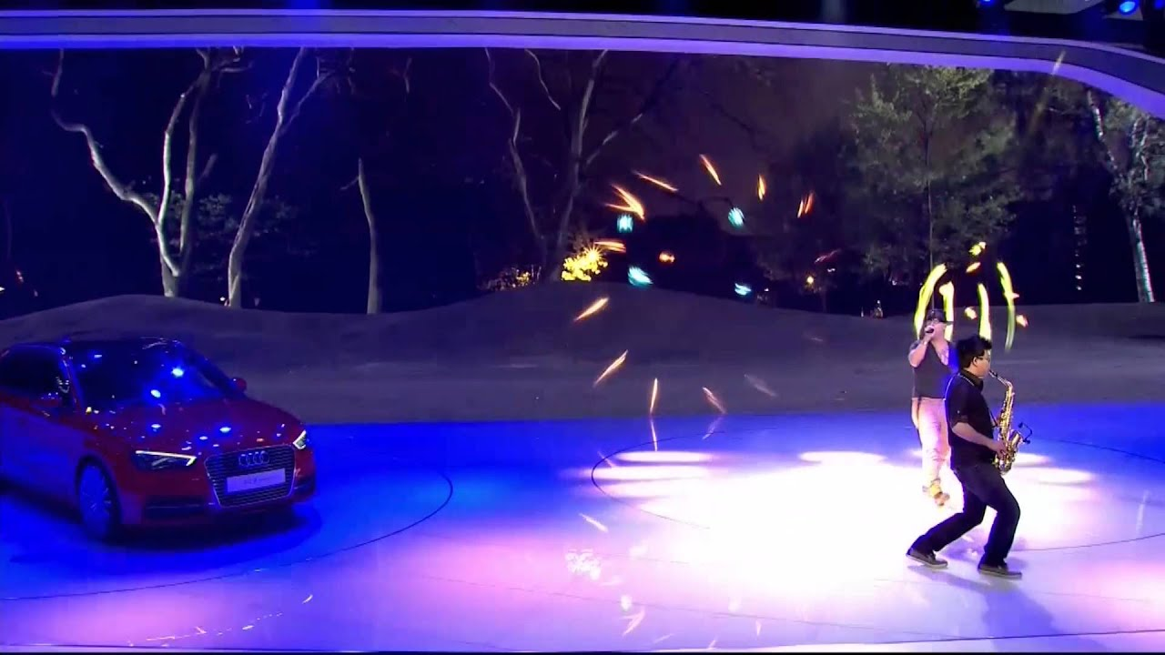 new car launches eventsLaunch Event of the new Audi TT Offroad Concept at the Auto China