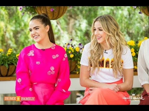 Chloe Lukasiak and Bailee Madison Visit the Home & Family Show   Hallmark Channel