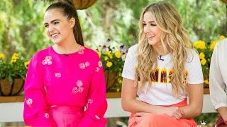 Chloe Lukasiak and Bailee Madison Visit the Home & Family Show | Hallmark Channel