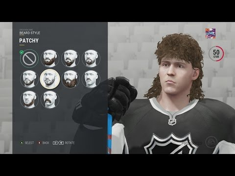 "NHL 17 CREATE A PLAYER! ""My Skater and Goalie"""