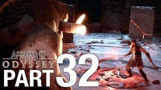 ASSASSIN'S CREED ODYSSEY Full Walkthrough Part 32 - MINOTAUR BOSS FIGHT - No Commentary