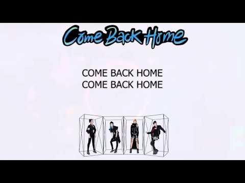 2NE1 Come Back Home Easy Lyrics
