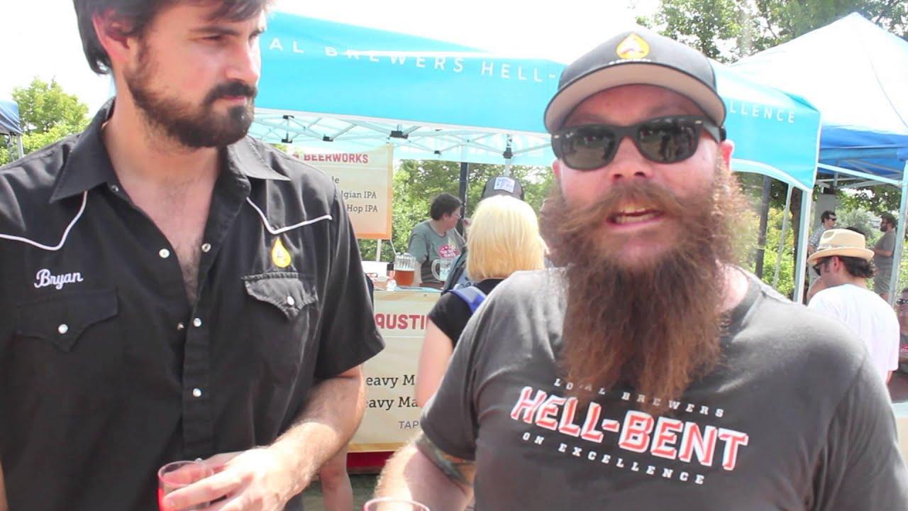 Austin beerworks at texas craft brewers festival 2013 for Texas craft brewers festival