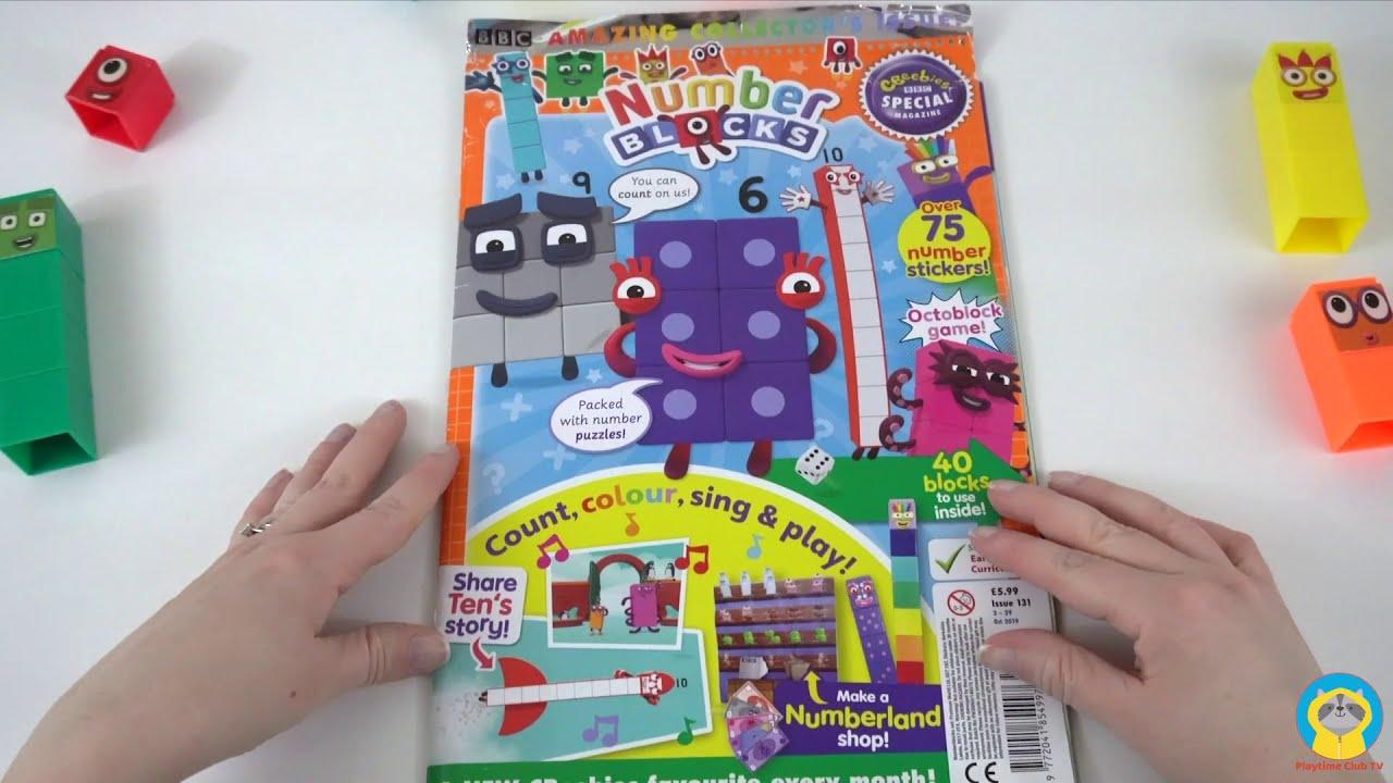 Numberblocks Magazine July l Playtime Club TV