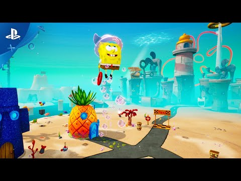 Spongebob Squarepants Battle for Bikini Bottom - Rehydrated - Pre-Order Trailer | PS4