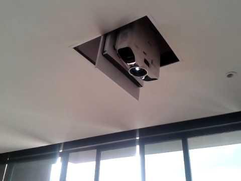 Ascensor para videobeam orbital casamecanica youtube - Soportes para proyectores ...