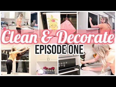 CLEAN AND DECORATE WITH ME 2019// SUNDAY AT TIFFANI'S EPISODE 1