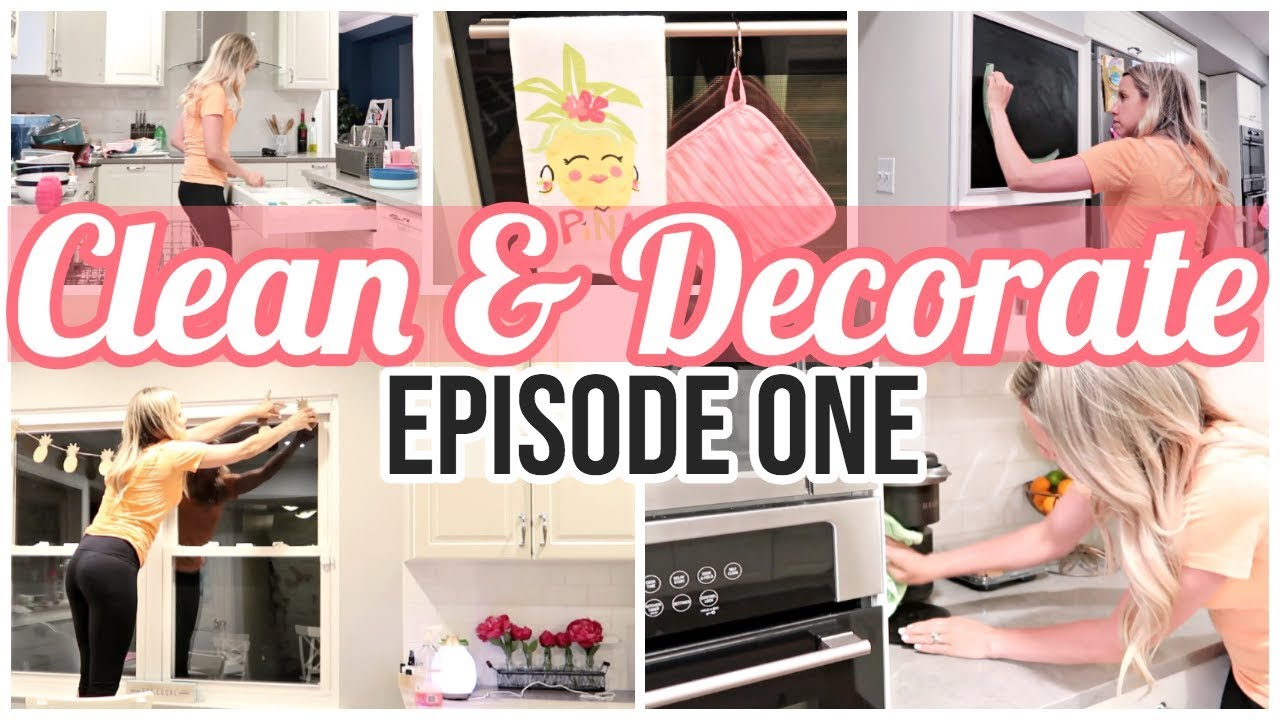 Clean And Decorate With Me 2019 Sunday At Tiffanis Episode 1