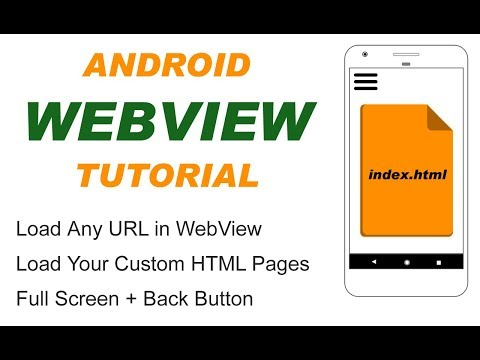 Android WebView Tutorial