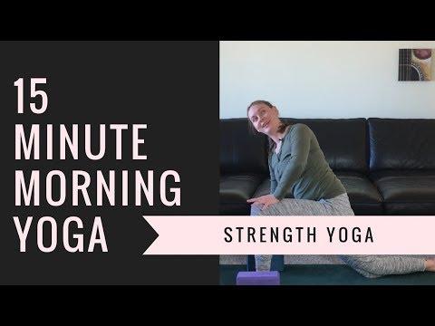 15 Minute Morning Yoga with Brentan Schellenbach
