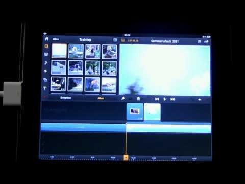 03 Avid Studio iPad: Hinzufügen von Videoclips