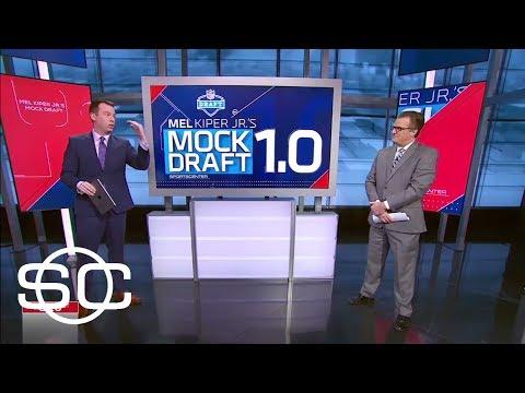 Mel Kiper predicts Josh Allen No. 1 to Browns in first mock draft | SportsCenter | ESPN