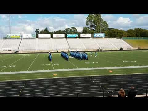 West Rusk High School Band 2017 - UIL Region 21 Marching Contest