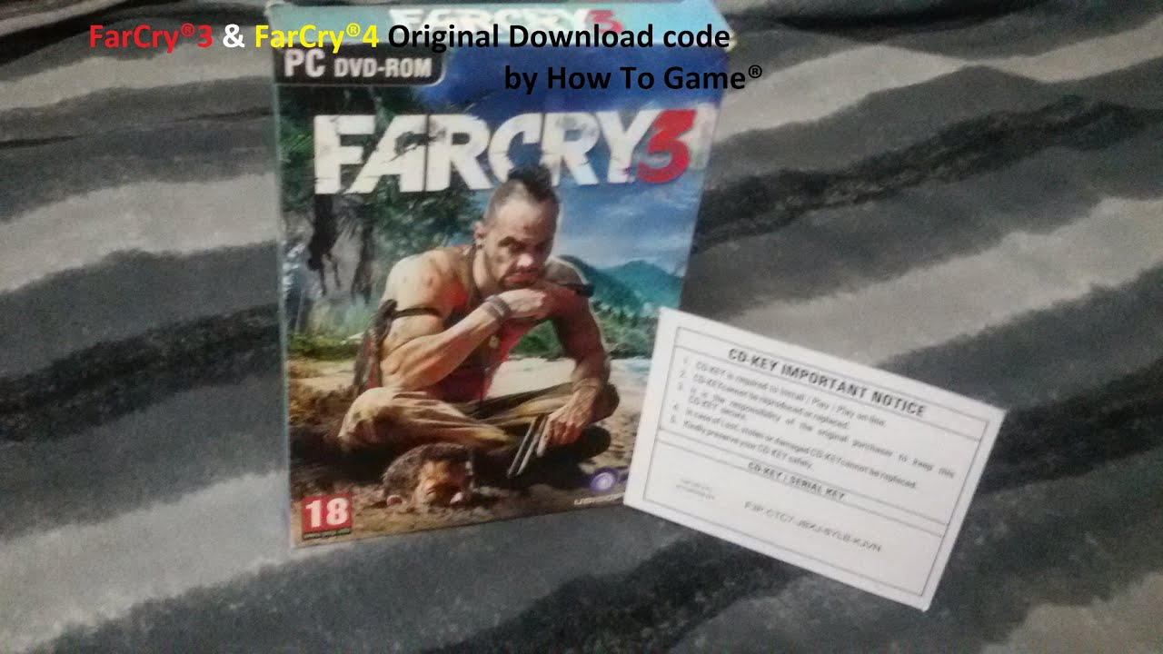 Far Cry 3 and Far Cry 4 Download code original (Free Give Away)